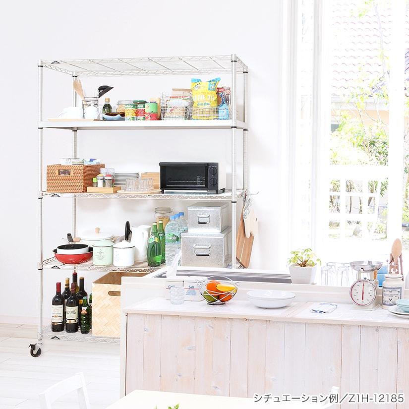 <span>キッチンなどの水回りに</span>優れた防錆性能を誇るシリーズの為、キッチンやランドリーなどの水回りでももちろんご使用いただけます。