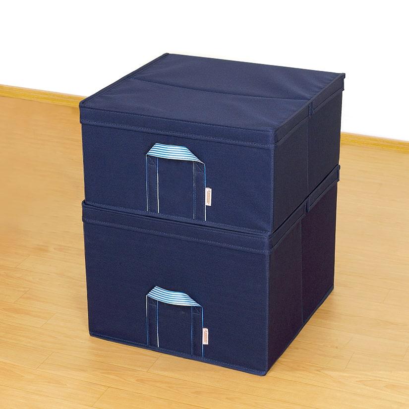 <span>重ね使いも可能</span>2段以上を重ねて使うこともできるから、高さがある場所もスペースを無駄にすることなく収納にできます。