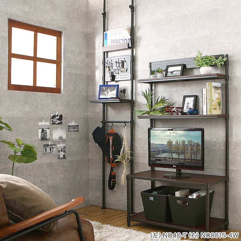 <span>ルミナスノワールから、突っ張り壁面収納が登場!</span>クールなマットブラック色が特徴の「ルミナスノワール」シリーズから、待望の壁面収納ラックが登場!奥行がとってもスリムだから、狭い場所にも収納が増やせます。別売りの専用拡張パーツが豊富なので、カスタマイズもおすすめです!