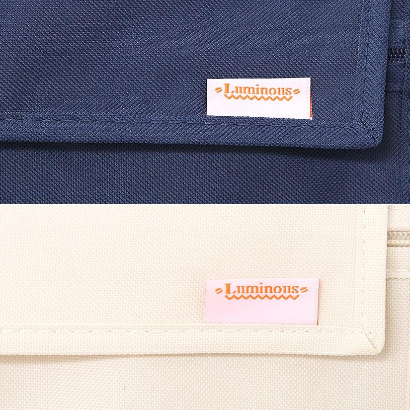 <span>ルミナスの証、ブランドタグ付き</span>ルミナス製品であることの証である、ブランドタグが付いております。